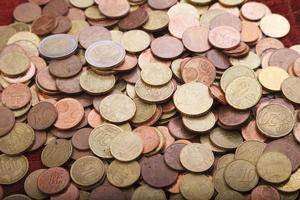 Money: Euro Coins photo