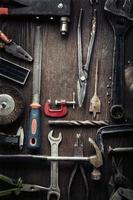 grungy oude tools