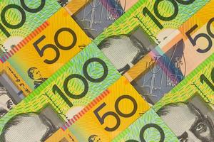 Australian Currency - One hundred and fifty dollar notes photo