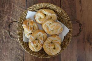 pretzel de padaria