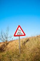 signo de frenos