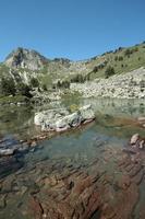 Camisette peak in Pyrenees