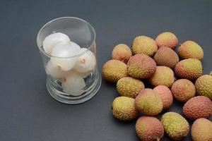 gepelde lychee