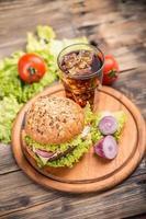 hamburguesa con queso foto