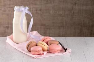 macarons clásicos foto