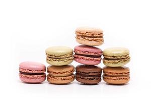 macarons de colores foto