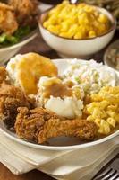 pollo frito casero del sur foto