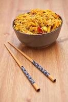 Singapore noodles photo