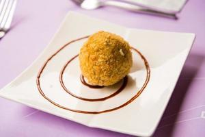 Rice onigiri strawberry stuffed