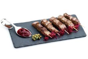 carne de res yakitori