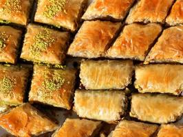 delicious Turkish baklava