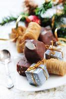 dulces de navidad foto