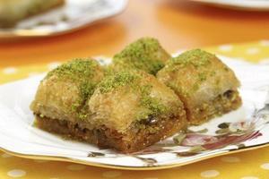 baklava perfeito com pistache