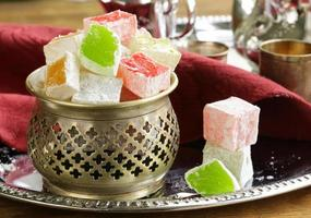 Turkish delight dessert photo
