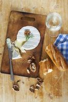 Camembert cheese photo