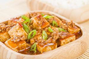mapo tofu (麻 婆 豆腐)