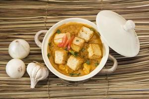 Paneer Masala or Cheese Cooked in a Creamy Sauce photo