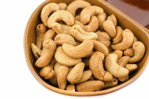 Roasted Cashew nuts are salty.