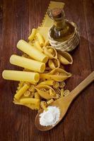 comida de pasta italiana foto