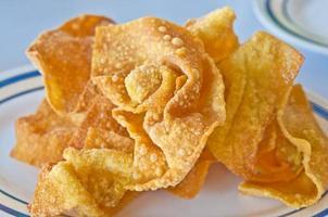 The Fried dumpling crispy
