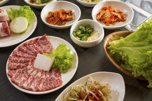 Korean dishes photo