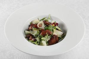 Salad of chicken liver photo