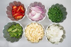 Thai food ingredients photo