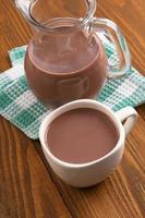 leche con chocolate foto