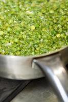 Peas Cooking photo