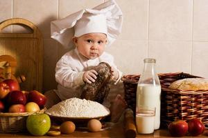 pequeño cocinero foto