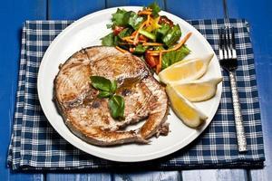 cooked swordfish photo