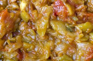 Cooked vegetables. photo