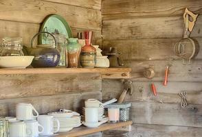 estantes de cocina foto