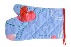 Quilted oven mitt
