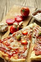 Italian pizza photo