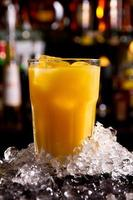 jugo de naranja foto