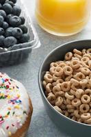 cereales para el desayuno foto