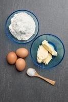 Baking ingredients photo