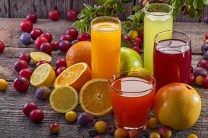Antioxidant juices photo
