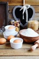 ingredienser för bakning