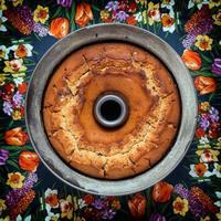 pastel recién horneado foto