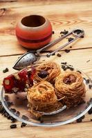 four cakes recipe Oriental sweets photo