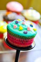Muffins recipe close-up