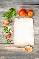 receta italiana foto