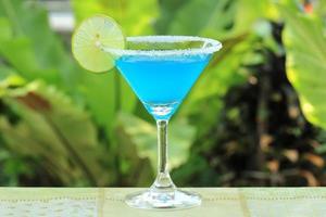 Blue margarita photo