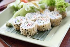 Salmon Maki sushi photo