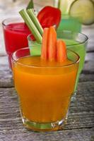 vegetable juices photo