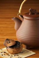 Tea and teapot photo