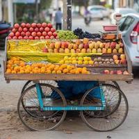 Fruits_cart photo