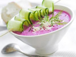 cold borscht photo